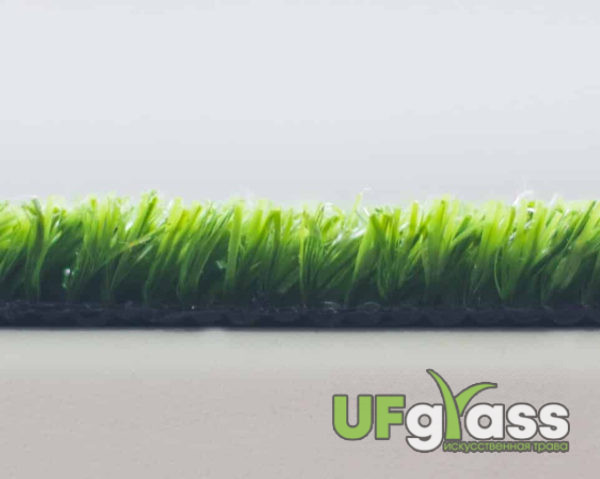 Ландшафтная искусственная трава 10 мм UF Grass (светло-зеленая) 63000 стежков\м2