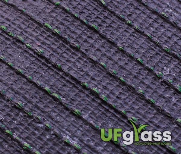 Искусственная трава для футбола 40 мм монофиламентная (Темно-зеленая)