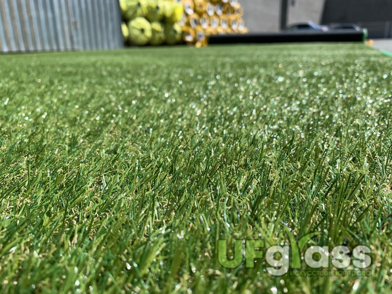 Ландшафтная искусственная трава 20 мм UF Grass Light Green